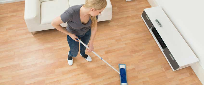 How to take care of hard floors